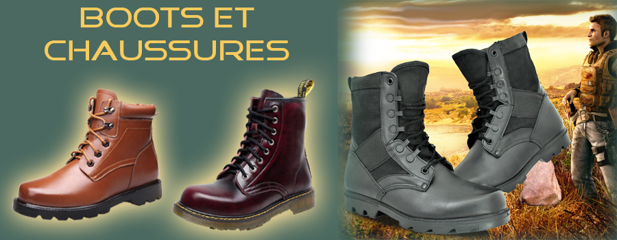 Chaussures homme - Boots et chaussures