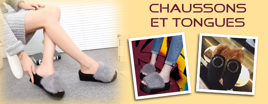 Chaussons et tongs