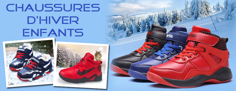 Chaussures enfant - Chaussures hiver