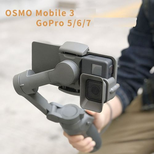 Adaptateur CQT DJI OSMO Mobile 3 GoPro 5/6/7  - Ref 3425759