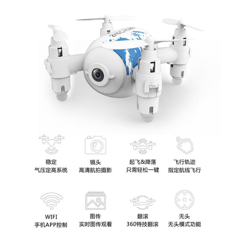 Mini Drone controle a distance Haute pression HD 3424066