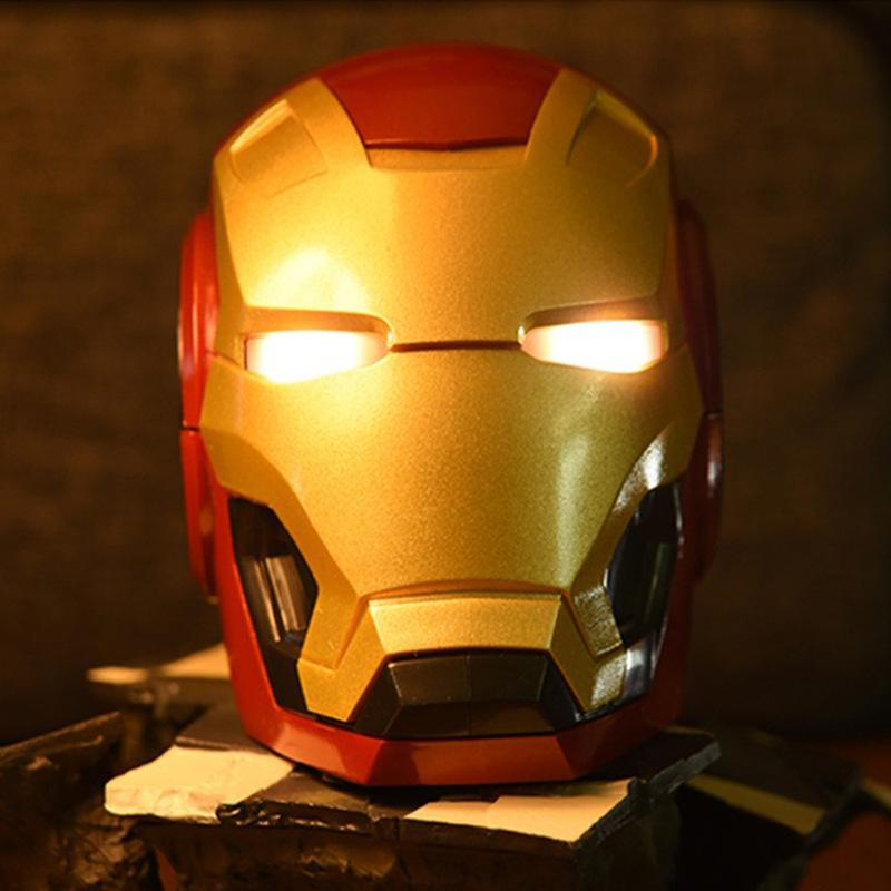 Mini Enceinte Bluetooth sans fil Iron Man - Ref 3424127