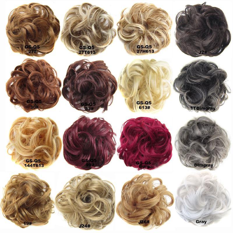 Perruque cheveux boucles moelleux 3425438