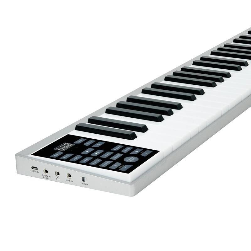 Piano Ultra-mince Clavier 61 Touches - Ref 3424362