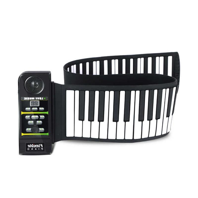 Piano pliant mobile portable Clavier 88 touches - Ref 3424358