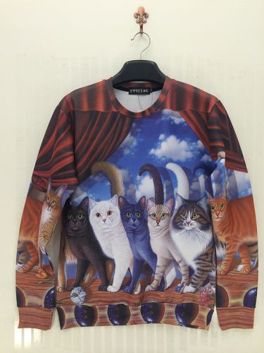 Pull 3D Les Chats - Ref 760