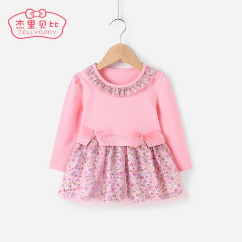 Robes pour fille JELLYBABY en coton - Ref 2044514