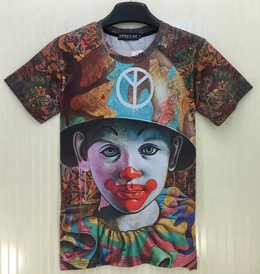 T-shirt 3D Enfant Clown - Ref 423