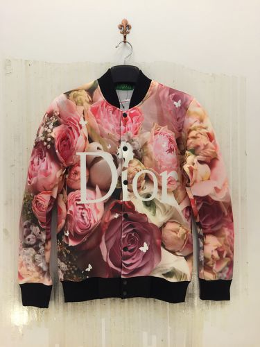 Veste 3D Rose Rouge - Ref 587