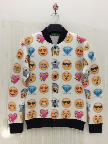 Veste 3D Chien Smiley - Ref 606