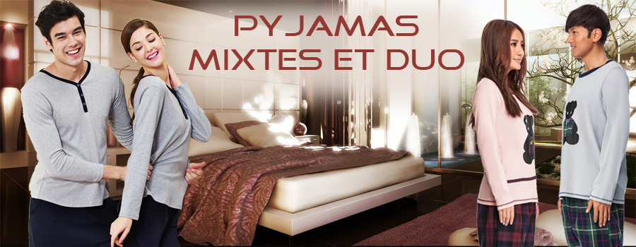 Pyjamas mixtes