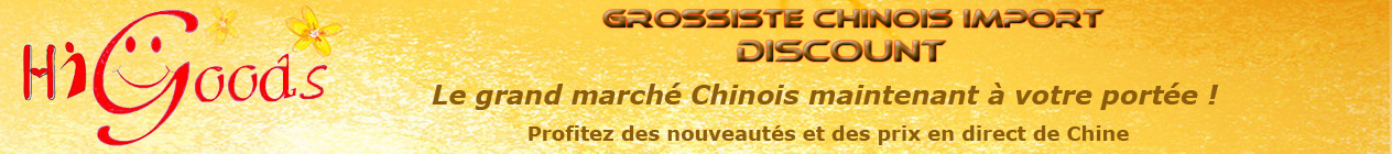 Grossiste Chine Discount